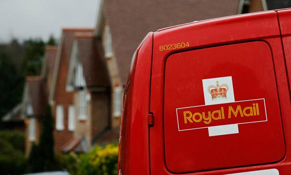 Royal Mail postal van